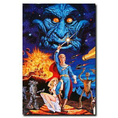 FLASH GORDON CLASSIC VINTAGE MOVIE Art Silk Poster 12x18 24x36