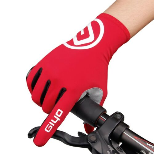 Cycling Gloves Touch Screen Anti Slip Gel Pad Windproof MTB Road Bike Gloves