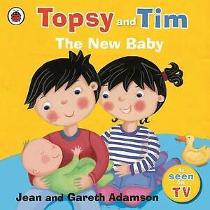 Topsy-and-Tim-The-New-Baby-by-Jean-Adamson-Paperback-2009