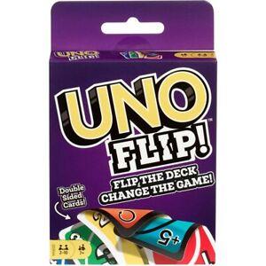 Uno-Abatible-Tarjeta-Juego-Nuevo-Sellado-Paquete-Mattel-Games-Voltear-la-cubierta-Original