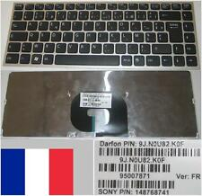 Clavier Azerty Français SONY VAIO VPC-Y séries 9J.N0U82.K0F 95007871 148768741