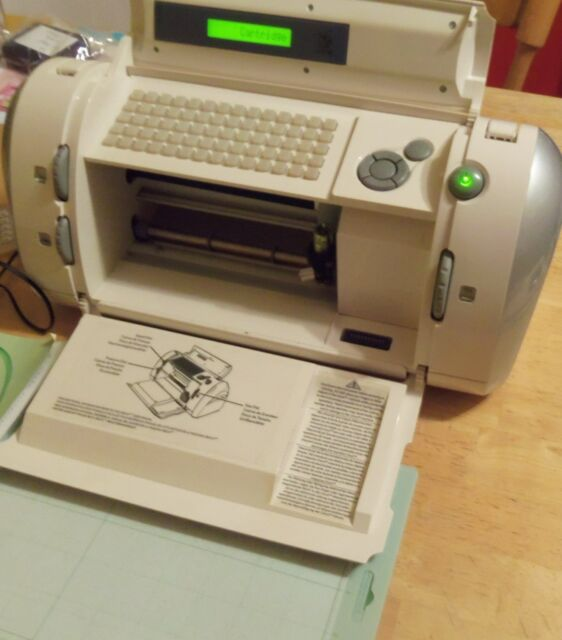 Cricut Provo Craft Personal Electronic Scrapbooking Cutter Machine