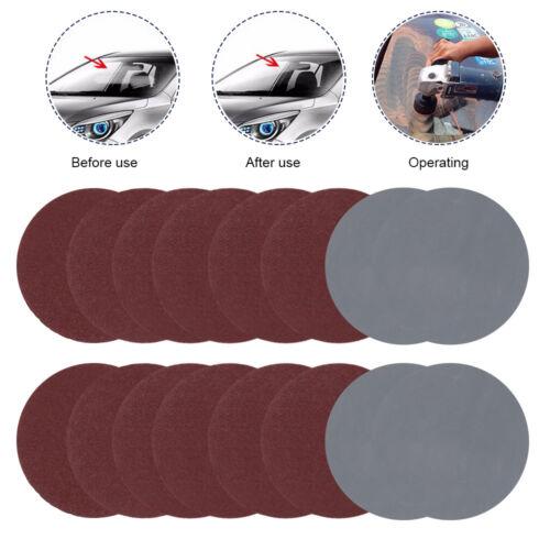 100pcs 3/'/' 75mm Hook /& Loop Sander Sanding Discs Pads 80-3000 Grit Sandpaper