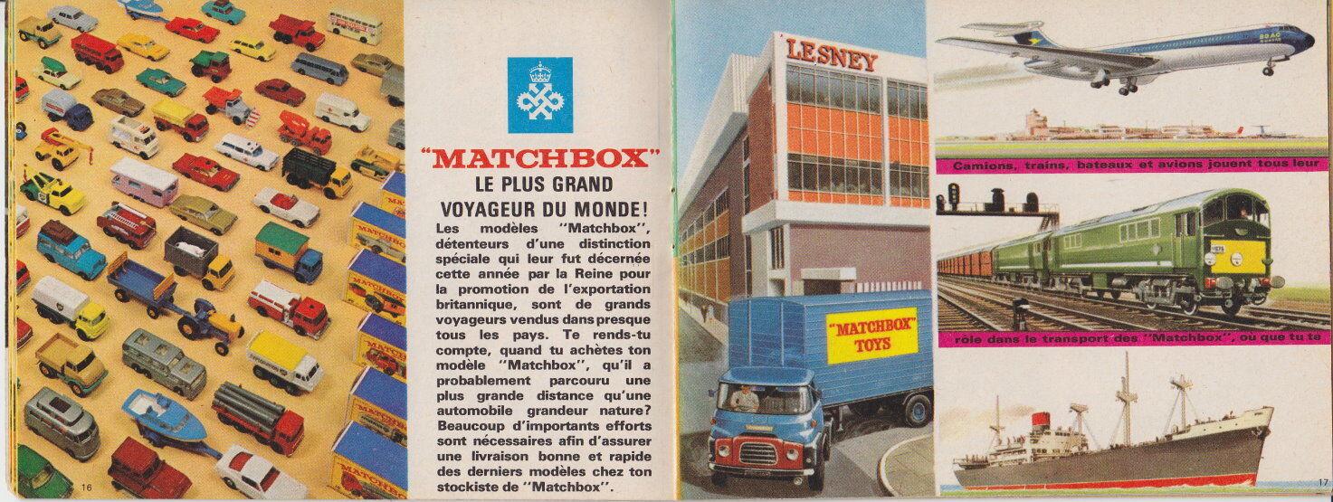 MATCHBOX CATALOGO Francia French edition 1967 1967 1967 Top 07b3c7