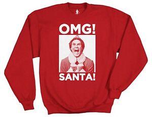 Elf-OMG-SANTA-Graphic-Sweater-S
