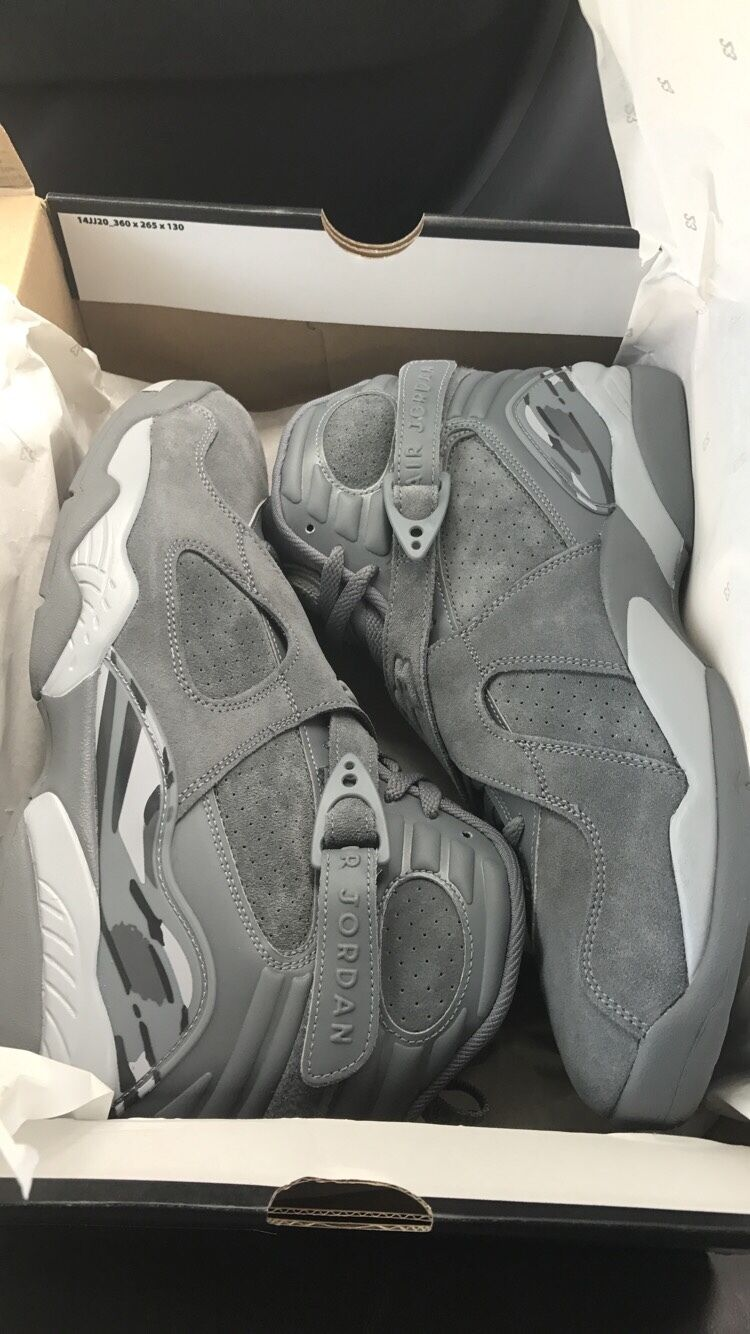 air air air jordan 8 cool grey EARLY RELEASE 0cb680