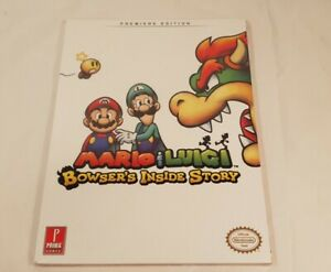 Mario & Luigi: Bowsers Inside Story PREMIER EDITION: Prima Official Game Guide