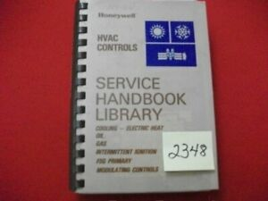 HONEYWELL-HVAC-CONTROLS-SERVICE-HANDBOOK-LIBRARY-A-C-ELECTRIC-HEAT-OIL-GAS-MORE