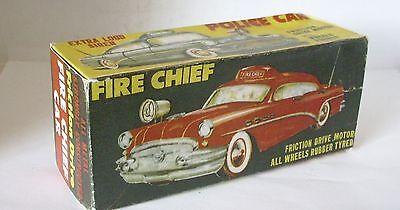 Aus Dem Ausland Importiert Repro Box Police/ambulance/fire Chief Car Spielzeug Blechspielzeug