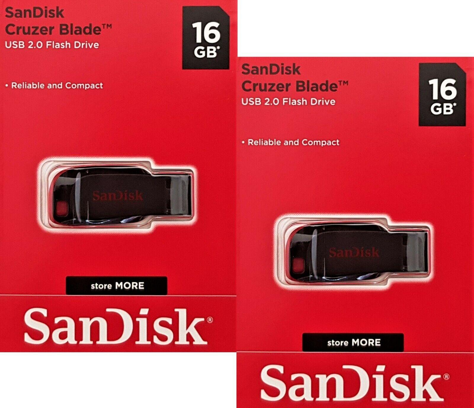 2x 16GB USB Stick