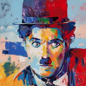 "001 Charlie Chaplin - Modern Times RIP UK Actor 14""x14"" Poster"
