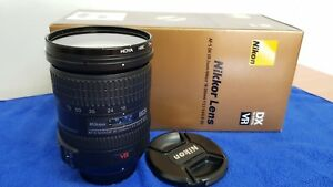 Nikon-NIKKOR-18-200mm-f-3-5-5-6-AF-S-VR-ED-M-A-Lens-Hoya-Filter-US-Model