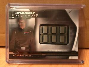 Topps-Star-Wars-Masterwork-2019-Admiral-Ozzel-Artifact-Medallion-Card-MC-ORB
