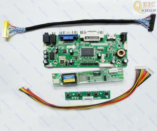 LCD Controller board Adapter Diy Kit for 1024X768 LTN141XA-L01 HDMI+VGA+DVI