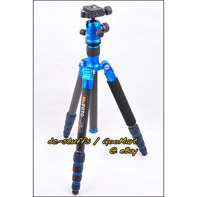 MeFoto RoadTrip C1350Q1 Carbon Fiber Tripod Monopod Kit BLUE * EXPRESS SHIP