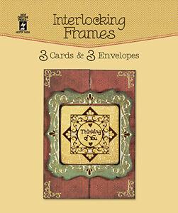 interlocking frames die cut cards envelopes greeting paper craft