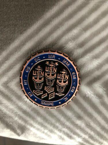 US Navy Engineering Snipe Challenge Coin
