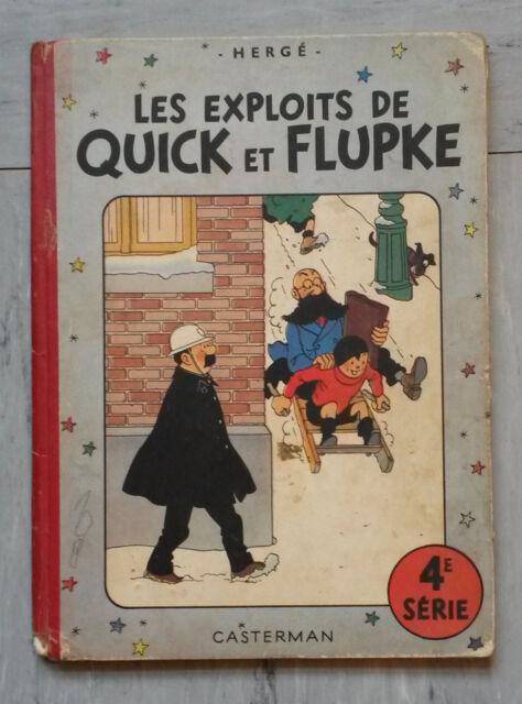 Quick et Flupke 4 édition originale