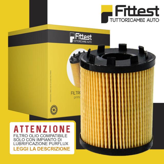 Filtro Olio Fiat Grande Punto 1.3 Multijet Opel Corsa 500 Abarth (IMP. PURFLUX)