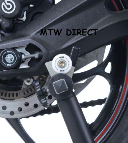 R/&G RACING WHITE M8 PADDOCK STAND COTTON REELS SUZUKI GSX-R 1000 2008 K8