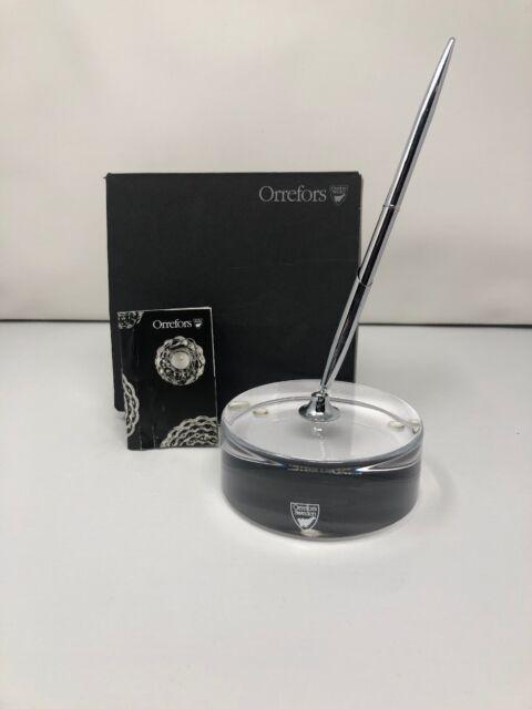 Clear Crystal Ringholder by Orrefors NO BOX Sweden
