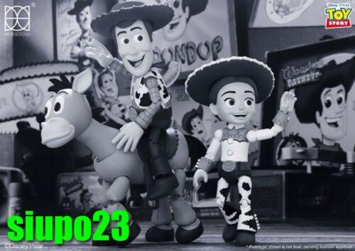 Herocross ~ HMF #311 Disney Toy Story Woody /& Jessie /& Bullseye 3pc TV Color Ver