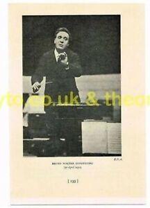 BRUNO-WALTER-CONDUCTING-1932-Book-Illustration