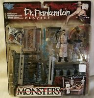 Mcfarlane Toys Todd Mcfarlane's Monsters Dr. Frankenstein Playset Series Two