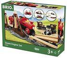 BRIO Steam Engine Train Set Wooden Toy Post