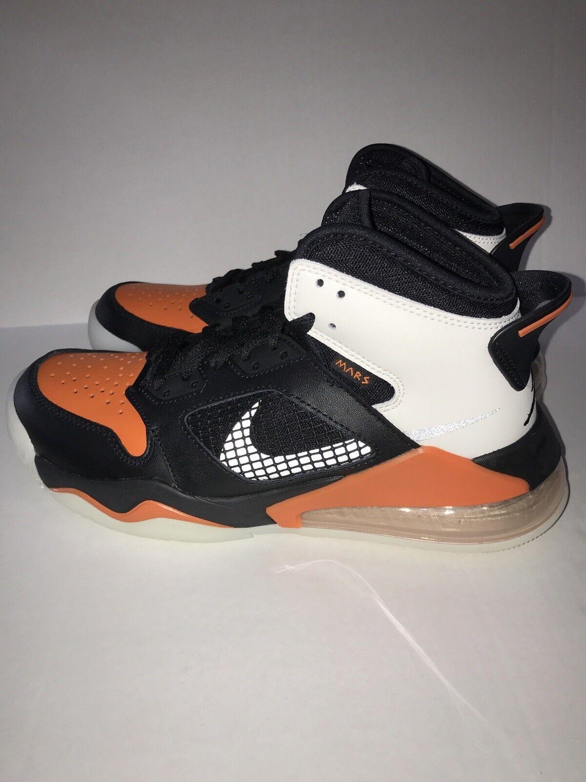 Nike Air Jordan Mars 270 Basketball Shoes Black Starfish CD7070-008 Men's 8 New