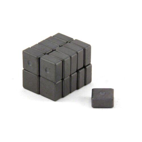 0,18 kg ziehen Packung mit 800 10 x 10 x 5 mm dicken Y10 Ferrit-Magnet