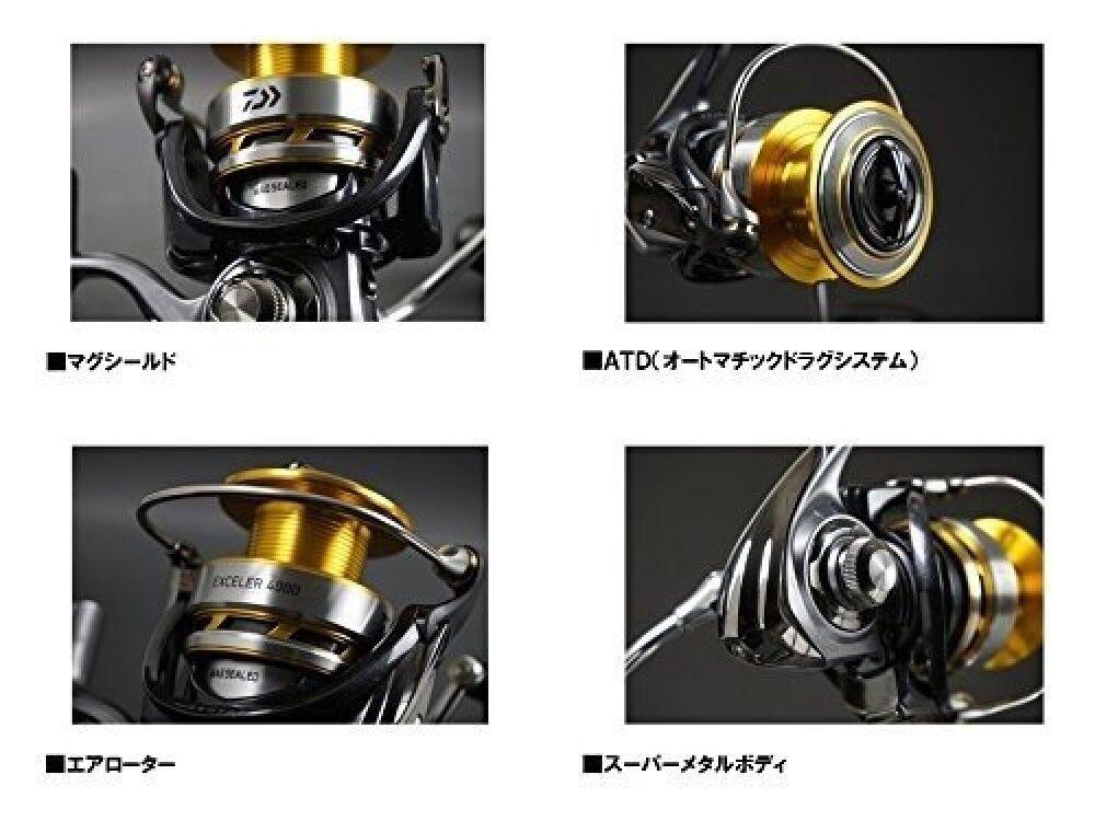 Daiwa Spinning Reel 17Exceler 2506H-DH Größe) (2500 Größe) 2506H-DH For Fishing From Japan 421a12