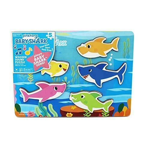 BABY SHARK PUZZLE LEGNO 54918 EDITRICE
