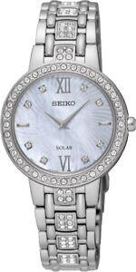 Seiko SUP359 SUP359P9 Ladies Solar Watch WR50m NEW RRP $550.00
