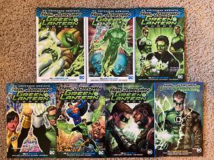 TPB-Graphic-Novel-Lot-Hal-Jordan-Green-Lantern-Corps-Rebirth-Vol-1-2-3-7-Omnibus