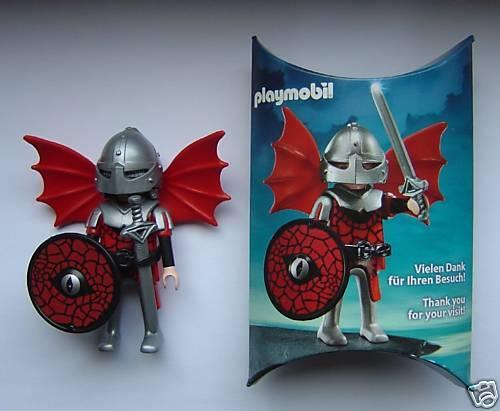 Playmobil * DRAGON CHEVALIER * toy Fair jouets foire 2009