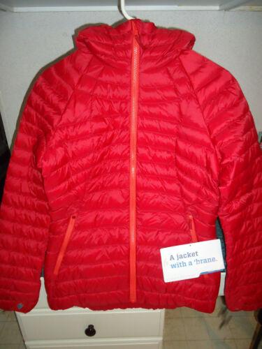 JACKET WOMEN/'S SMALL CHILI SRP $199 SIERRA DESIGNS 800 FILL DRIDOWN HOODY S