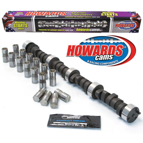 "HOWARD/'S 2400-6200 RPM SBC Big Daddy Rattler™ 297//305 507/""//495/"" 109° Cam Lifters"