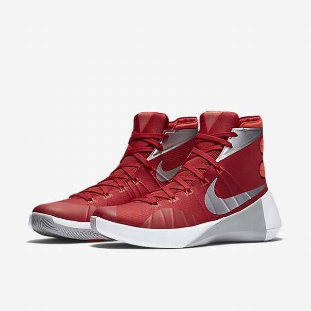 de nouvelles hommes baskets superdunk hommes nouvelles rouge blanc argent métallique de nike taille 16,5 66c664