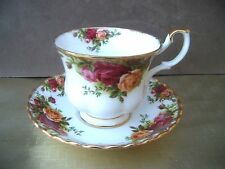 Royal Albert Old Country Roses. Teacup & Saucer. FREE UK POSTAGE