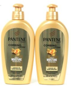 2-Pantene-Pro-V-6-7-Oz-Daily-Moisture-Renewal-Adds-Shine-Leave-In-Combing-Creme
