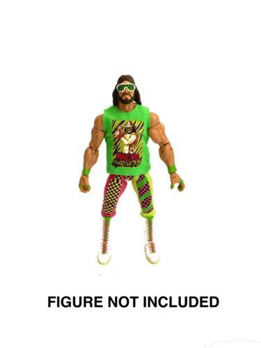 "WWE Macho Man Randy Savage /""Macho King/"" Custom Shirt pour Mattel figures."