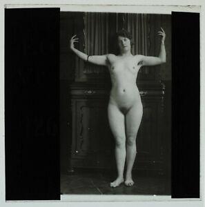 RARE-Original-1920s-female-nude-glass-positive