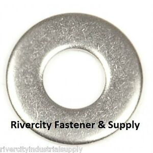 100 7//32 Washer #12 Stainless Steel Flat Washers Size 12 Number 12 Washer