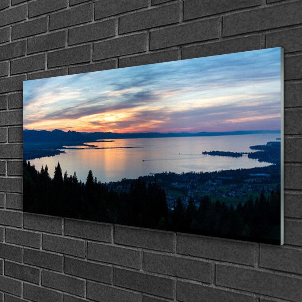 Tableau sur verre Image Impression 100x50 Paysage Plage De La Mer