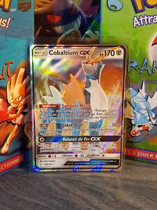 carte pokemon duo de choc Carte Pokemon Cobaltium GX 106/181 SL9 Duo de Choc Rare et Neuve