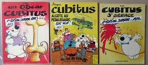 CUBITUS-DUPA-TROIS-ALBUMS-EN-EO-BROCHES-VEDETTE-QUASI-NEUFS