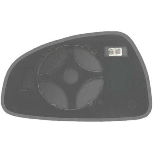 Côté Droit Clip On Chauffé Miroir De Verre Pour Audi TT 2006-2014 0330 rshp