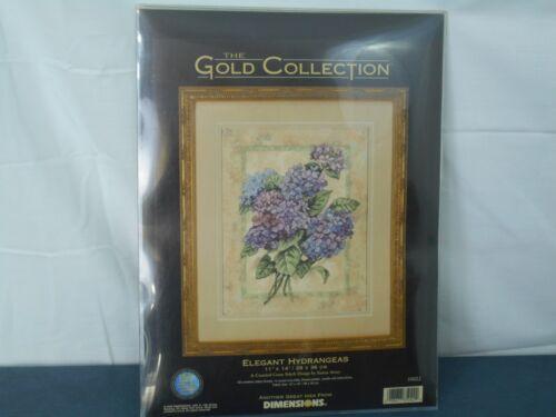 Dimensions Gold Collection 35022 Cross Stitch Kit Elegant Hydrangeas
