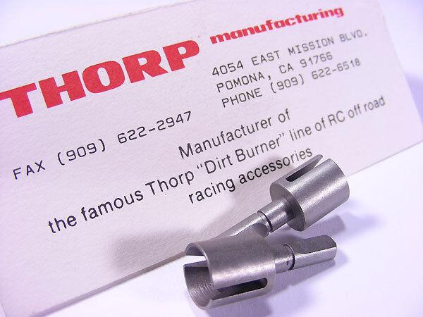 Vintage THORP Mfg Dirt Burners 4587 Tamiya FOX Universals for Dog Bones /& Stock